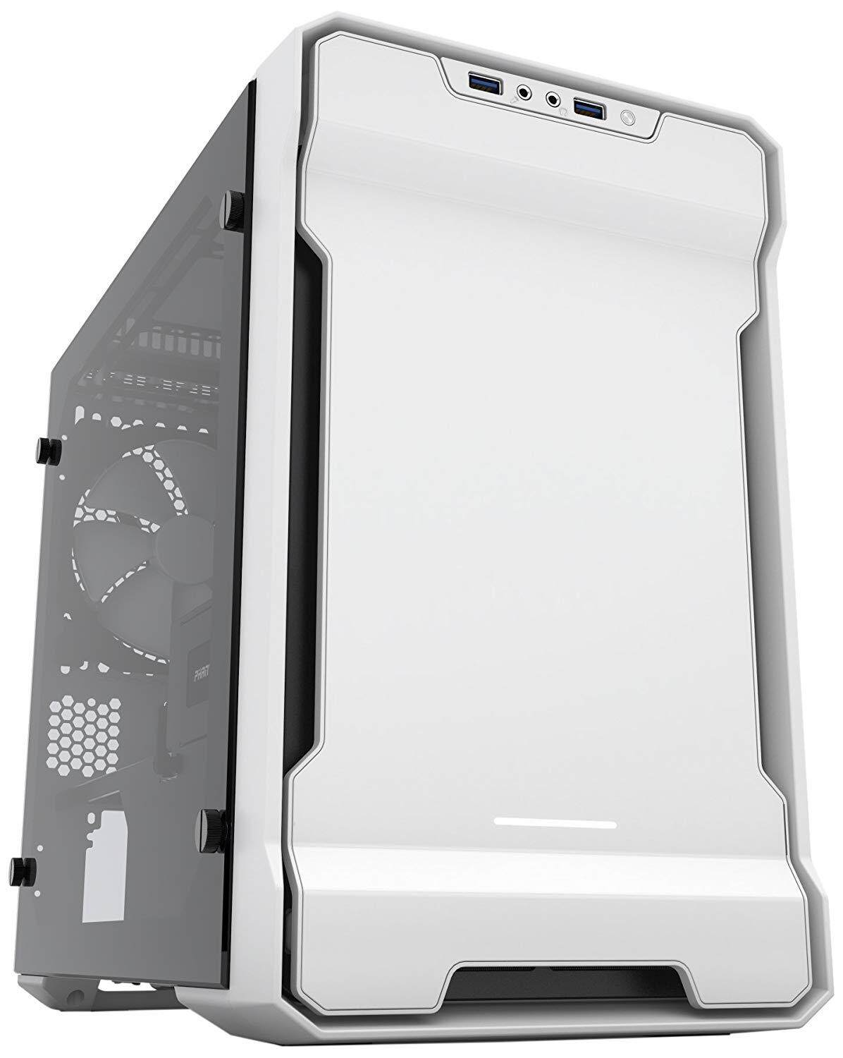 PHANTEKS ENTHOO EVOLV ITX TEMPERED GLASS WHITE CHASSIS Malaysia