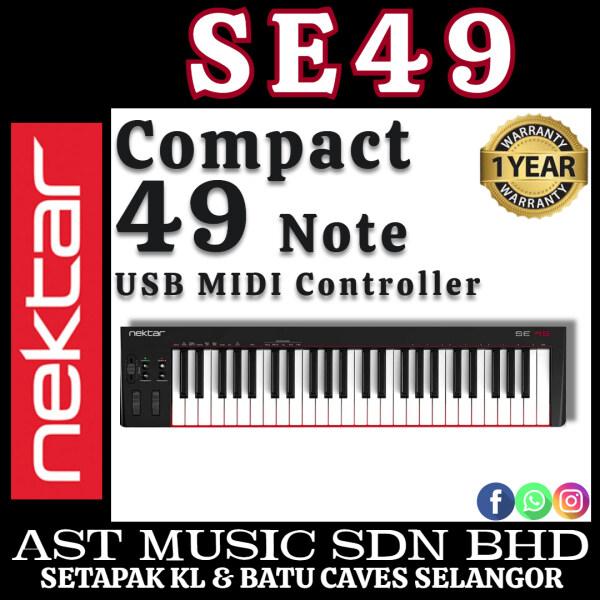Nektar SE49 Compact 49-note USB MIDI Controller ( SE-49 / Se49 ) Malaysia