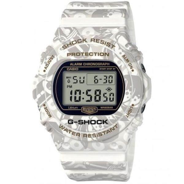 [Casio] Wrist Watch G-Shock Shichifukujin SHICHI-FUKU-JIN Longevity Elderly Model DW-5700SLG-7JR Mens Malaysia