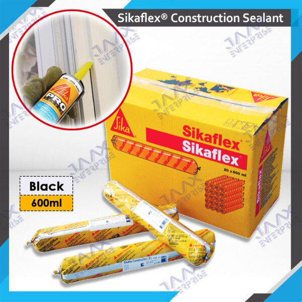 SIKA® SIKAFLEX Construction PU Silicone / AP Sealant For Building Joints (600ml)   EXP : YEAR 2021