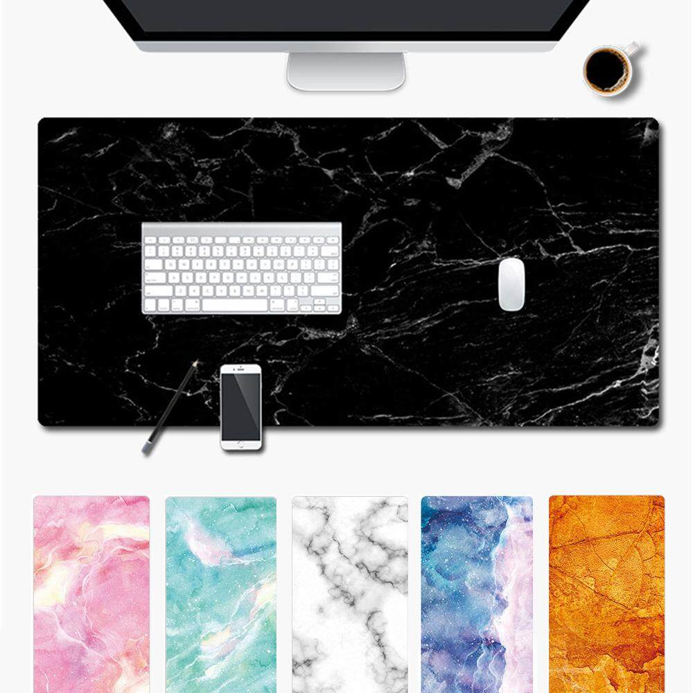 1* Modern Game Marble Grain Table Rubber Mouse Pad Computer Desk Mat Laptop Cushion Keyboard Malaysia