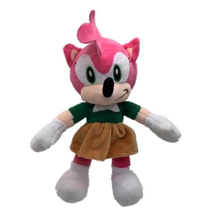 25cm Sonic Plush Toys Sonic The Hedgehog Black Shadow The Hedgehog Plush Stuffed Toys Doll Lazada Ph