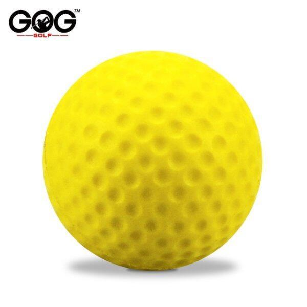 20 Cái/túi Ánh Sáng Màu Sắc Tươi Sáng Trong Nhà Ngoài Trời Đào Tạo Thực Hành Golf Thể Thao Đàn Hồi PU Bọt Balls Dropship