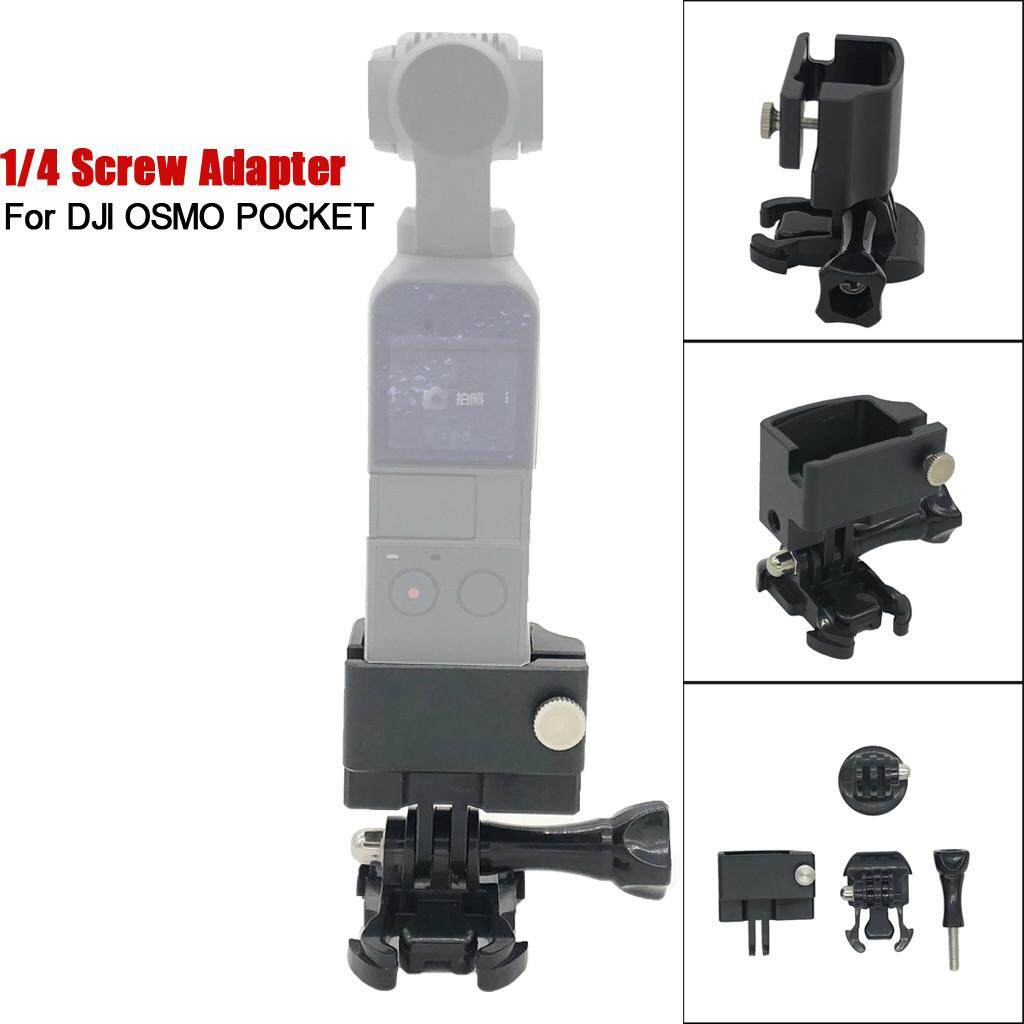 Docesty Multi-Function Expansion 1/4 Inch Screw Adapter Bracket For Dji Osmo Pocket By Docesty.