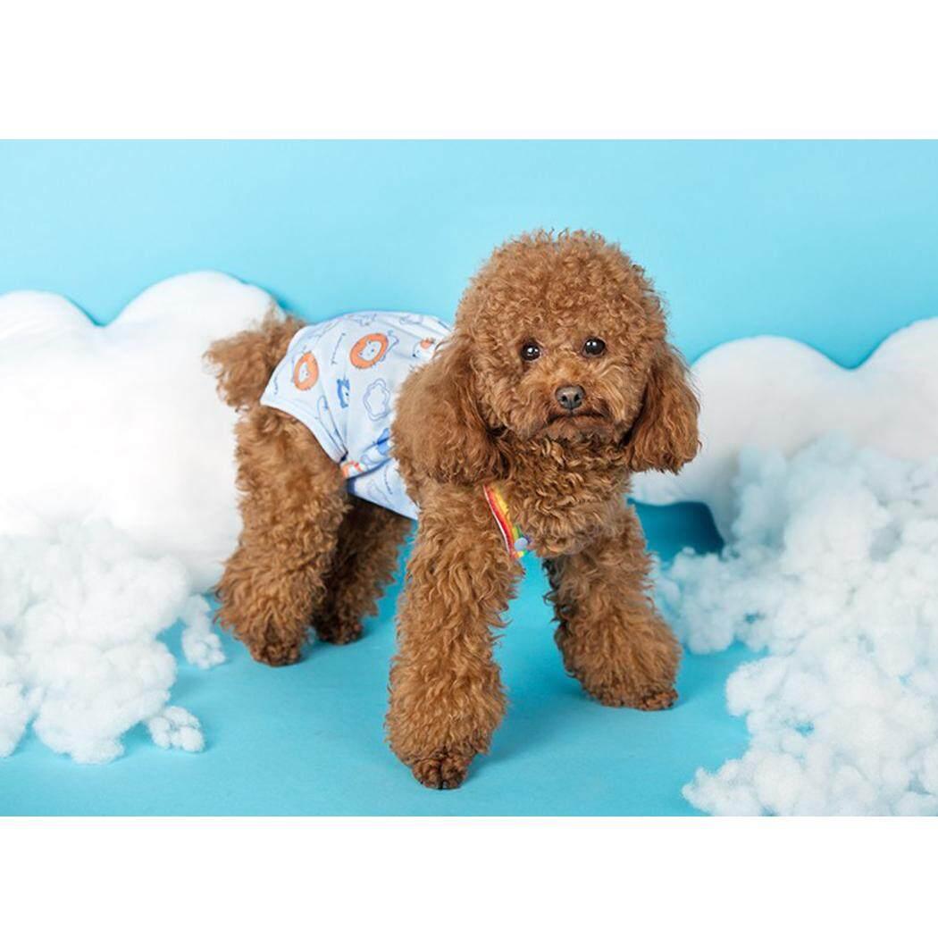 Chó Tã Có Thể Giặt Có Thể Tái Sử Dụng Vệ Sinh Pantie Chó Bông Tã với Suspender cho Nữ Chó XL - 2