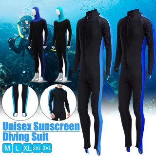 Đồ Bơi Nam Nữ Co Giãn Toàn Thân Bộ Đồ Lướt Sóng Lặn Với Ống Thở thumbnail
