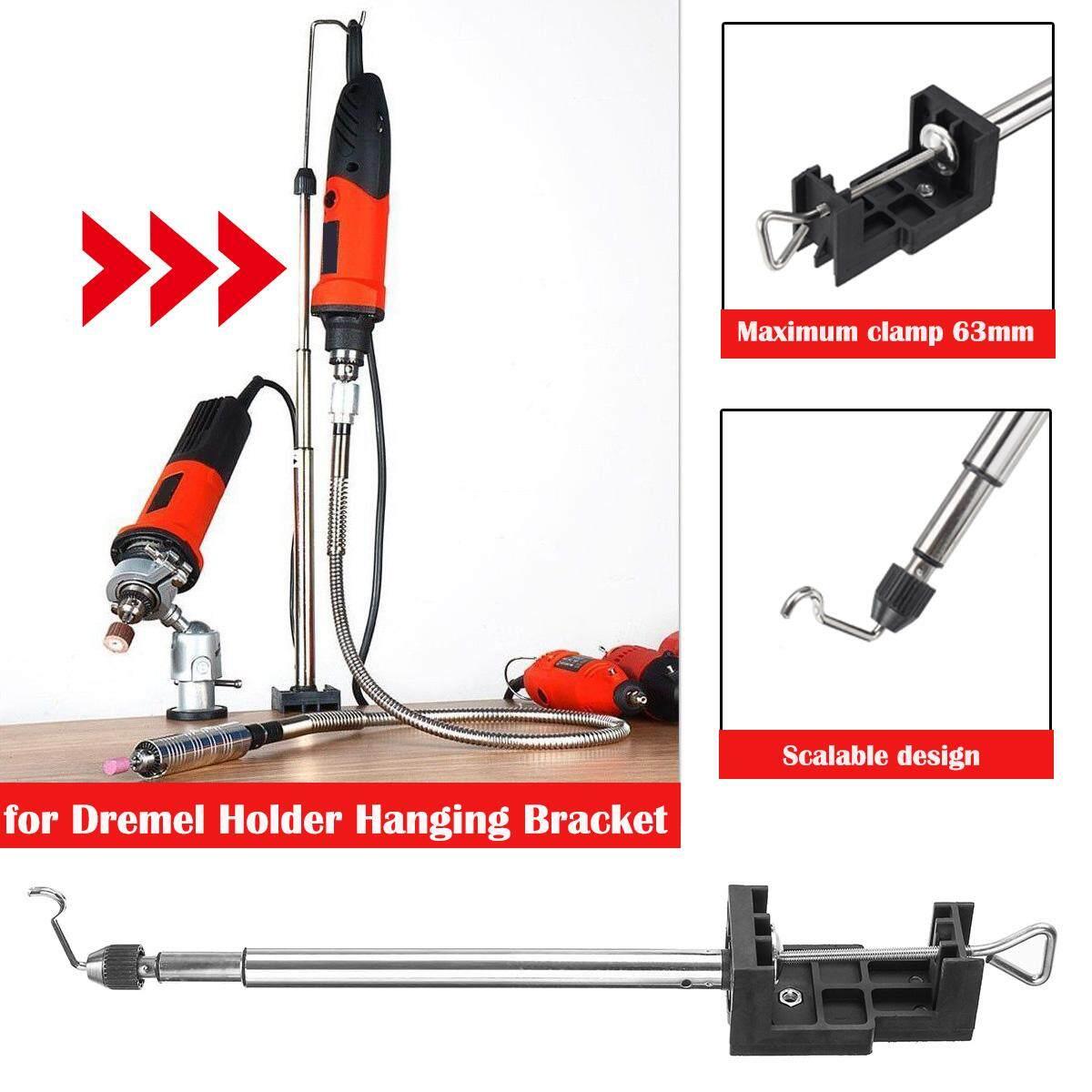 For Dremel Holder Hanging Bracket Power Accessories Tool Flex Shaft Drill Support By Moonbeam.