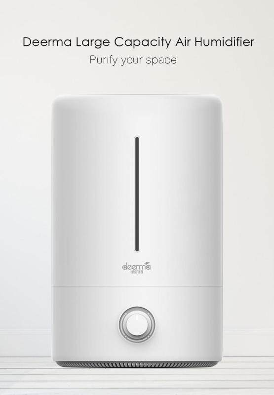 Deerma Household Mute Air Humidifier 5L Large Capacity Air Purifying Aroma Mist Maker Singapore