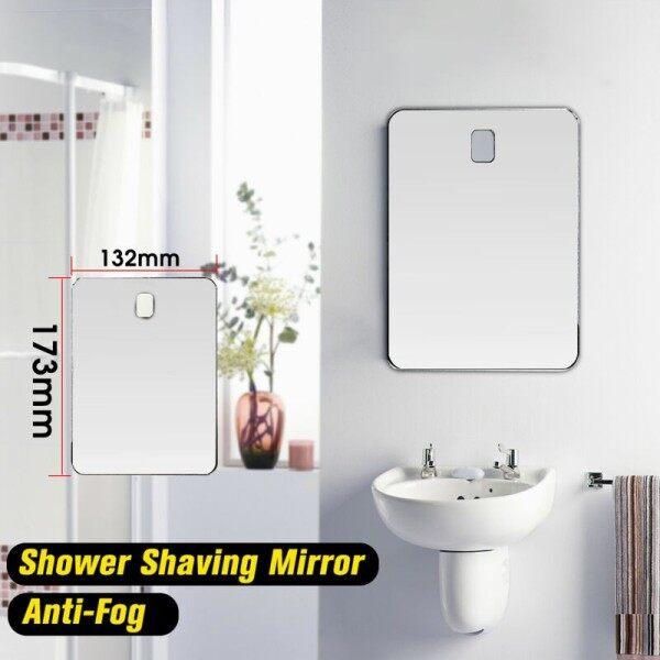 Gương Cạo Râu Mỹ Phẩm Gương Tắm Gương Nhỏ Chống Sương Mù Phòng Tắm Gương Cầm Tay Du Lịch Không Sương Mù Bằng Acrylic giá rẻ