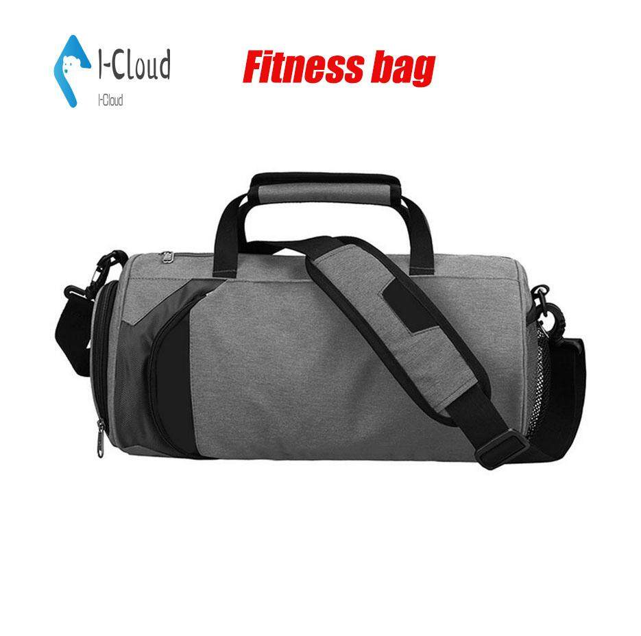 ab1a4e4cb662 I-Cloud Large-capacity Multi-function Sports Gym Bag Shoulder Small Size  Sports Bag