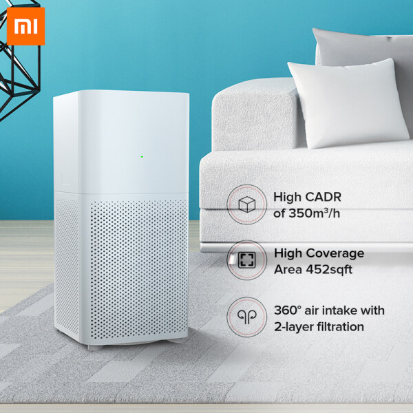 Xiaomi Air Purifier 2C Powerful 360° Suction Real-Time Air Quality Indicator Singapore