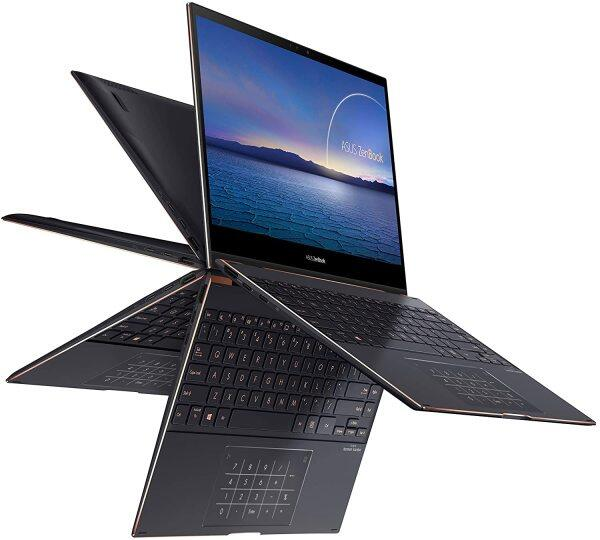 "ASUS ZenBook Flip S Ultra Slim Laptop, 13.3"" 4K UHD OLED Touch Display, Intel Evo Platform - Core i7-1165G7 CPU, 16GB RAM, 1TB SSD, Thunderbolt 4, TPM Malaysia"