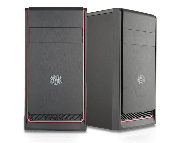 COOLER MASTER MASTERBOX E300L (RED) CHASSIS Malaysia