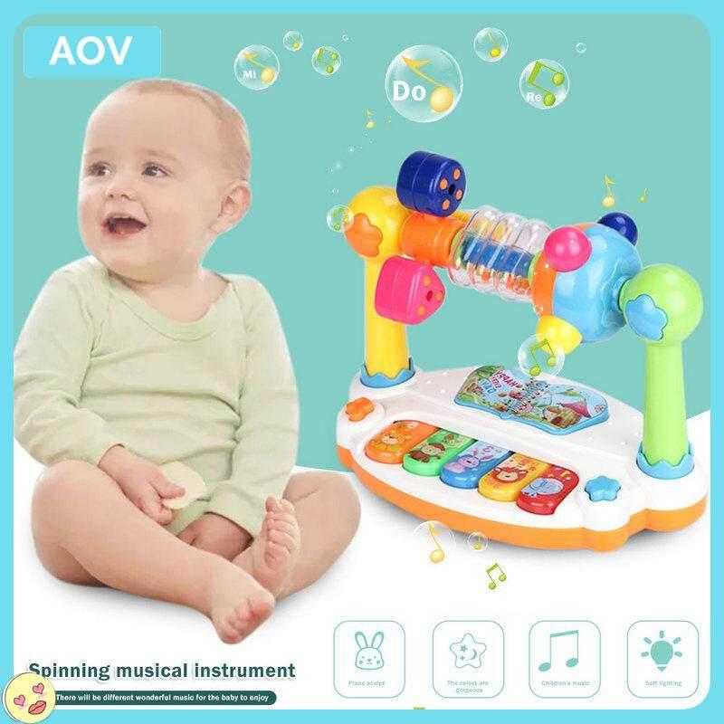 โอคาริน่า Combinatio ของขวัญเด็กเพลงของเล่นสำหรับการเรียนรู้ S เด็กดนตรีหมุนได้ของเล่นสำหรับการเรียนรู้เครื่องดนตรีของเล่นโอคาริน่าผสมเรียนรู้เพลงศูนย์กิจกรรมเกม18เดือน Up ของเล่นทารกของขวัญ