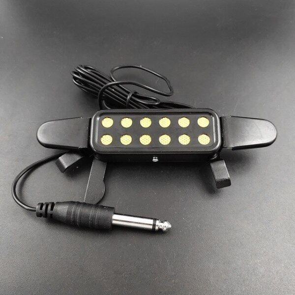 Micro Thu Âm 12 Lỗ Dây Loa Khuếch Đại Cho Guitar Điện Acoustic Đầu Dò Phụ Kiện Đàn Guitar