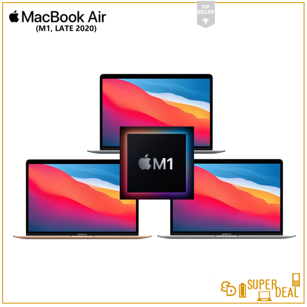 𝗔pple 13.3 ᎷacBook Air with Retina Display (M1, Late 2020) Malaysia