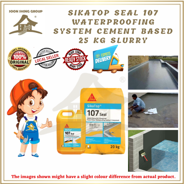 SikaTop Seal 107 Waterproofing System Cement Based 25 KG SLURRY