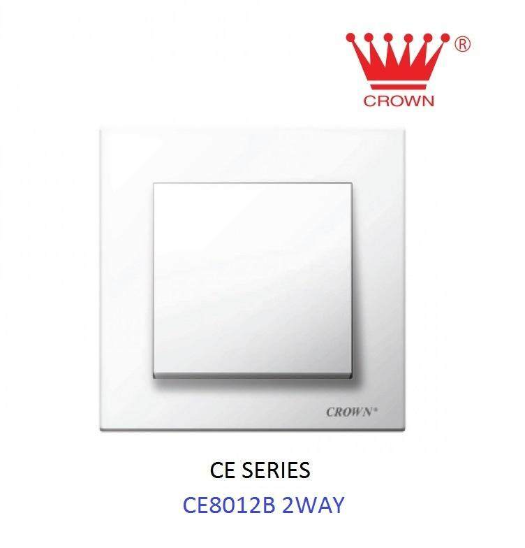 CROWN CE 1 Gang 2 Way Flush Switch CE8012B