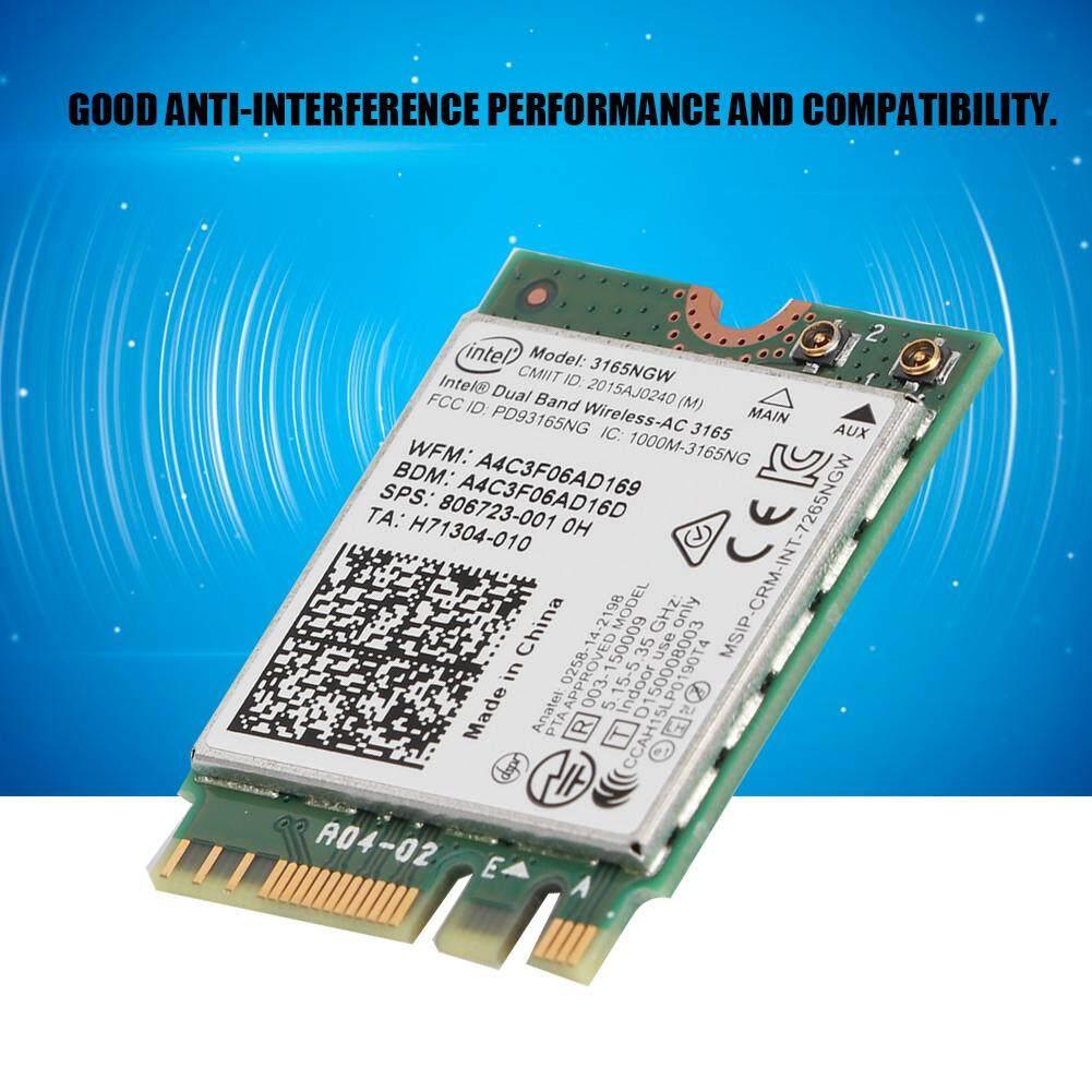 (Jumpjump)For Intel 3165AC Dual Band Wireless-AC 433M + Bluetooth4.0 802.11AC Card