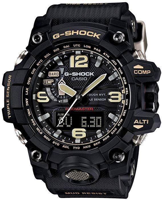 Casi0 G_shock_ (mudmaster) Dual Time Watch For Mens Special Promotion By Time Garden.