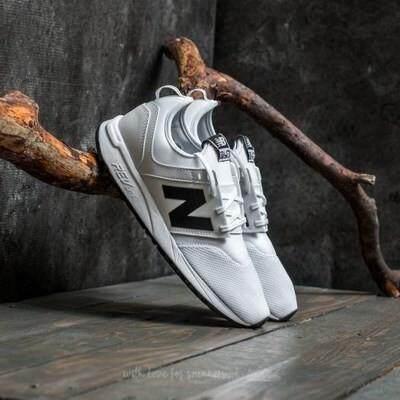 ยี่ห้อไหนดี  นครสวรรค์ YT 【 STOCK】New BALANCE/NB 247 รองเท้าผ้าใบสีขาวสำหรับผู้ชายและผู้หญิง