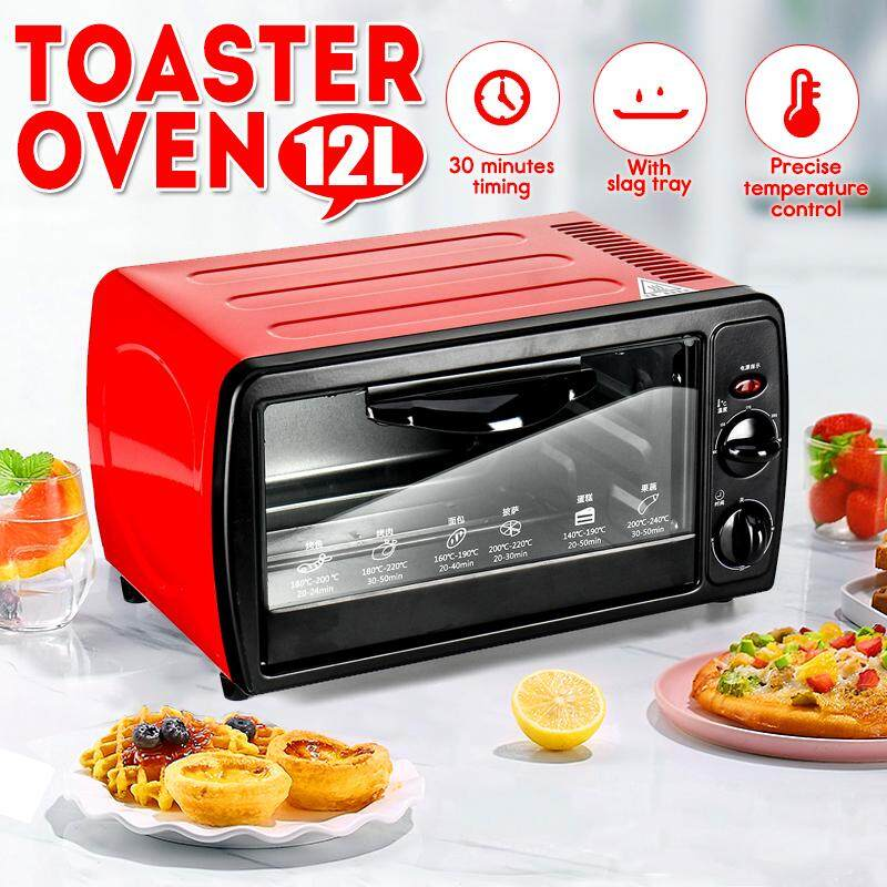 12L Toaster Oven Electric Oven Home Mini Baking Oven Modern Toaster Oven Kitchen