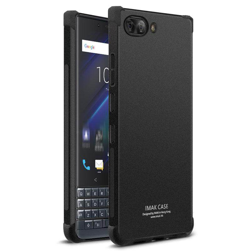 For Blackberry Key2 Le Imak Shockproof Case 4.5 Inches Soft Tpu Silicone Airbag Cover With Screen Protector.