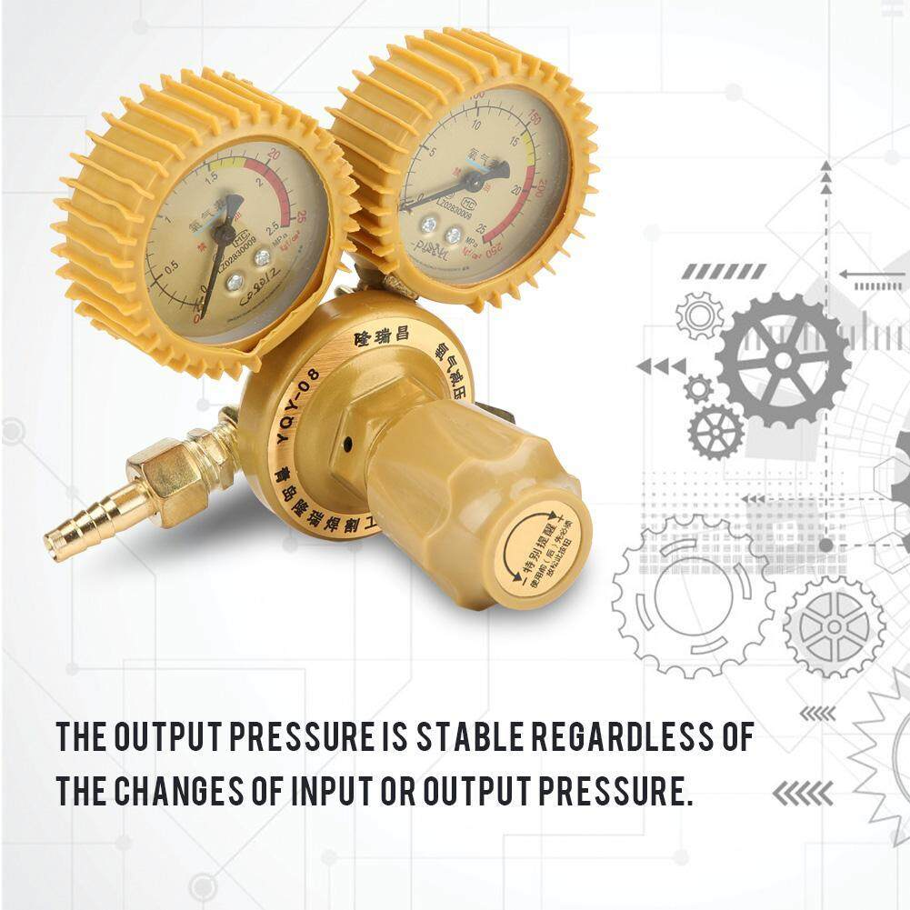 【Time-limited Promotions】1pc Brass Regulator Oxygen Pressure Reducer Dual Gauge 0-25MPa Welding Cutting