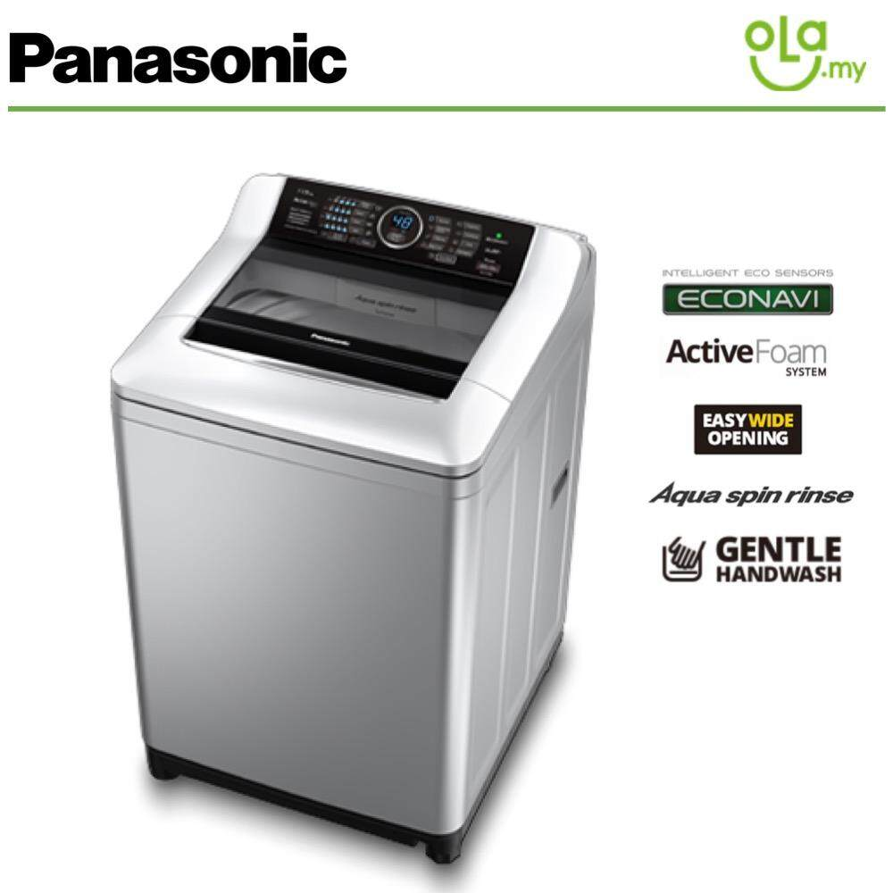 Panasonic 11.5KG Top Load Econavi Washer Washing Machine NA-F115X4LRT With Active Form