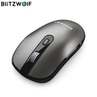 BW-MO3 BlitzWolf Chuột Không Dây Chế Độ Ba Chế Độ Bluetooth 2.4 3.0 5.0 GHz, Có Đầu Thu USB & Type-C Chuột Không Ồn 2400DPI Cho Máy Tính Để Bàn Máy Tính Máy Tính Xách Tay PC thumbnail