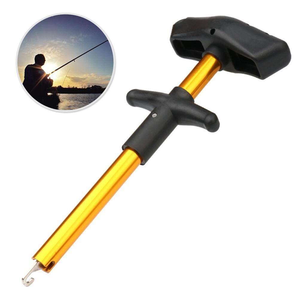 Onlook Portable Aluminum Tube Hook Detacher Lightweight Fishing Lure Remover Fish Hook Out Extractor Decoupling Device By Onlook.