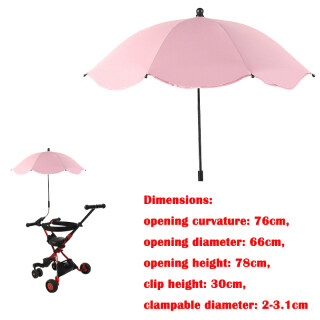 Ô Xe Đẩy Em Bé, Che Nắng, Parasol Điều Chỉnh 360 Độ Dành Cho Ngoài Trời Chất Lượng Cao Bền thumbnail
