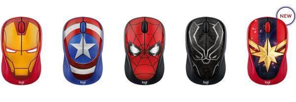Logitech M238 MARVEL Wireless Mouse - Spider Man 910-005559