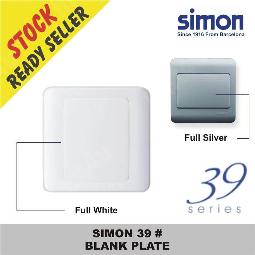 SIMON 39 # BLANK PLATE
