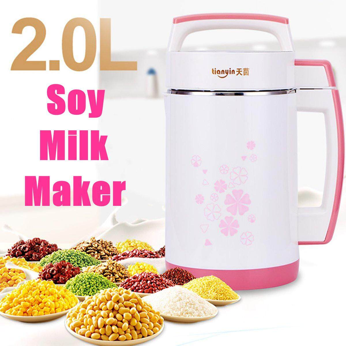 2l 800w Soy Milk Maker Cereal Soup Creams Raw Juice Rice Paste Soymilk Soybean By Moonbeam.