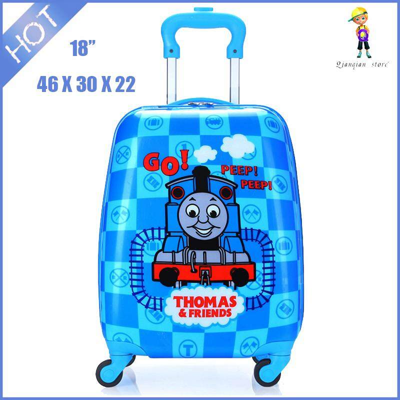 be057f7c8 New Cute Cartoon Kids Luggage 18 Inch Travel Cardan Wheel Suitcase Small  Children Pull Rod Box