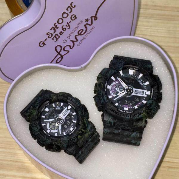 G SHOCK_FLORA GREEN_ DIGITAL COUPLE SET HAIGH QUALITY Malaysia