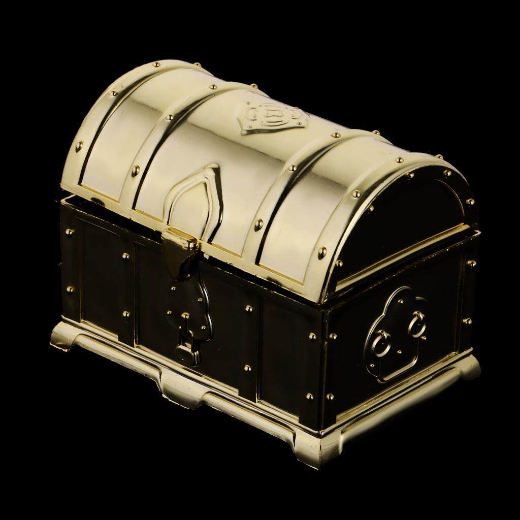 GuangquanStrade 12pcs Loot Bags Treasure Chest Candy Boxes Wedding Favor Kids Party Accessory