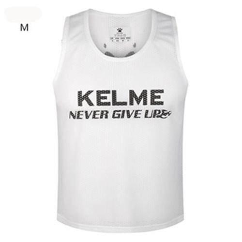 Kelme Mens ชุดฝึกฟุตบอลเสื้อกล้ามแข่งกีฬา Breathable เสื้อแขนกุดเอนกประสงค์เสื้อ K15z248 By Kelme Official Store.
