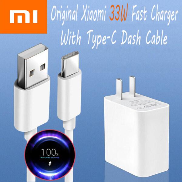 Sạc Xiaomi 33W Chính Hãng Sạc Nhanh Bộ Sạc Tường USB Bộ Chuyển Đổi Nguồn Một Cổng Cho iPhone Huawei Xiaomi PD3.0 10 11 9T Pro Redmi Nota 9 10 Pro K40 30 Poco X3