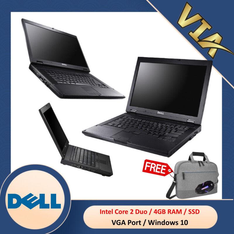 【BEST CONDITIONS!!】DELL LATITUDE E5400~CORE 2 Duo-P8700~4GB RAM~120GB/240GB SSD-WIN 10 Malaysia