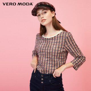 Vero Moda Áo Nữ Cổ Tròn Tay 3 4 Đính Cườm 320102504 thumbnail