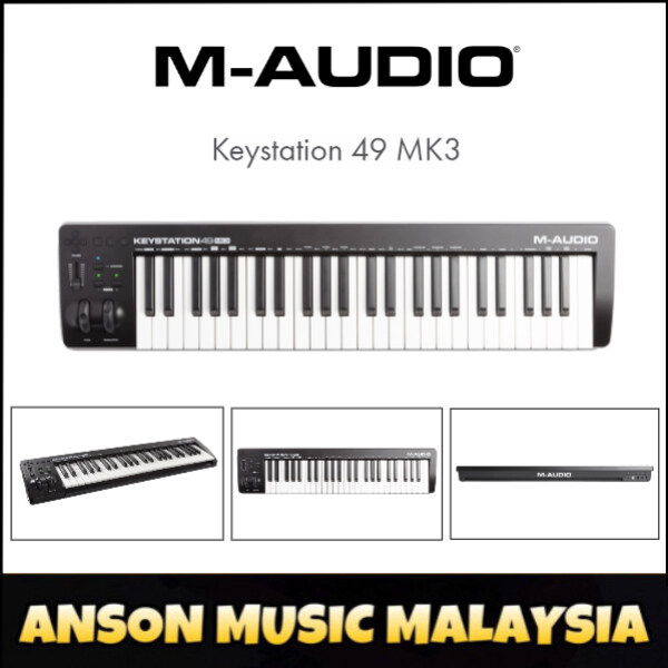 M-Audio Keystation 49 MK3 49-Key MIDI Controller (Keystation49 MK3) Malaysia