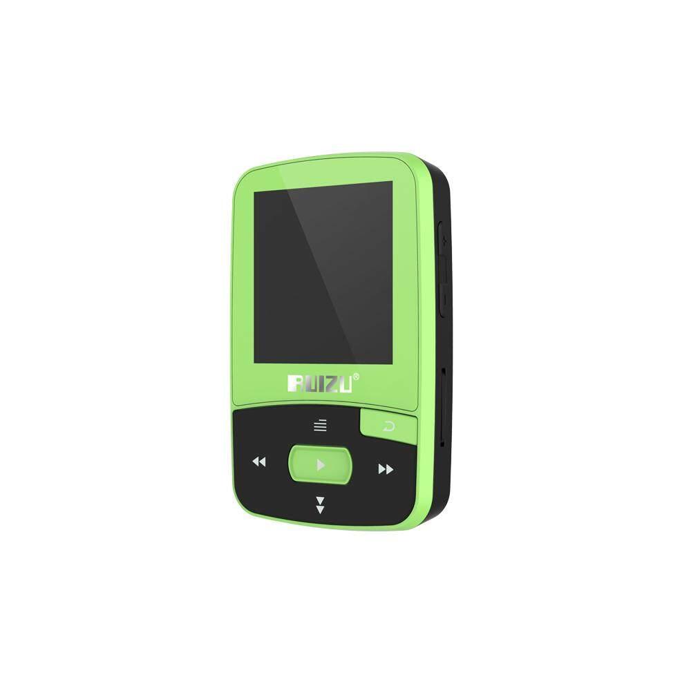 RUIZU X50 8GB 1.5in MP3 MP4 Player HiFi Lossless Sound Quality Bluetooth Pedometer TF Card FM Radio Recording E-book Time Calendar