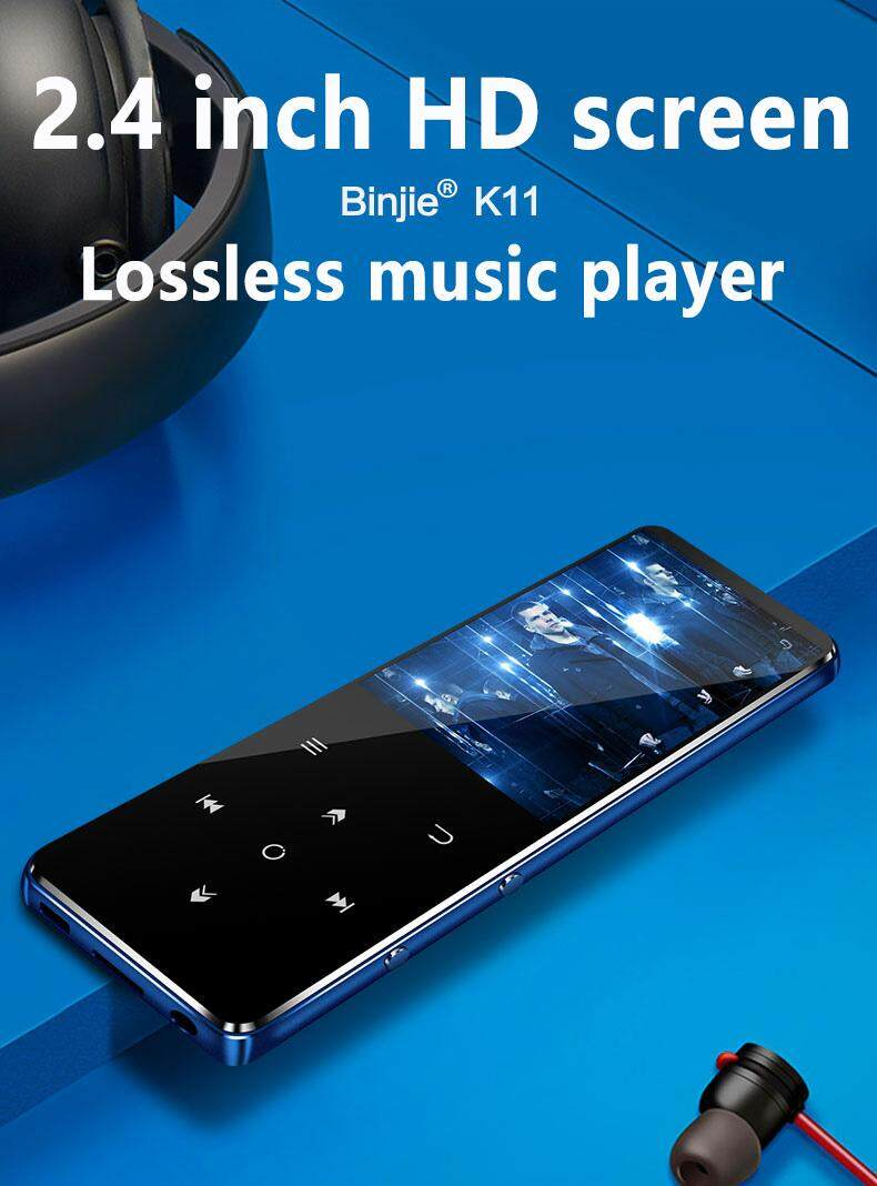 Lumiparty Benjie K11 Ipx4 Waterproof Hifi Bluetooth Mp3 Music Player Lossless Mini Portable Fm Radio Ebook Voice Recorder By Lumiparty.
