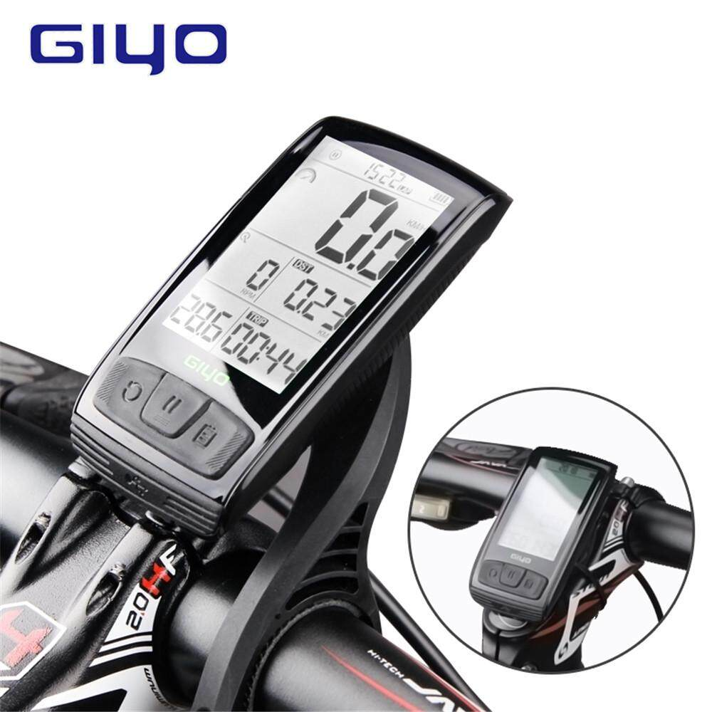 Giyo Wireless Bluetooth Bicycle Computer Ipx5 Waterproof Speedometer With Backlight By Tvc-Mall.