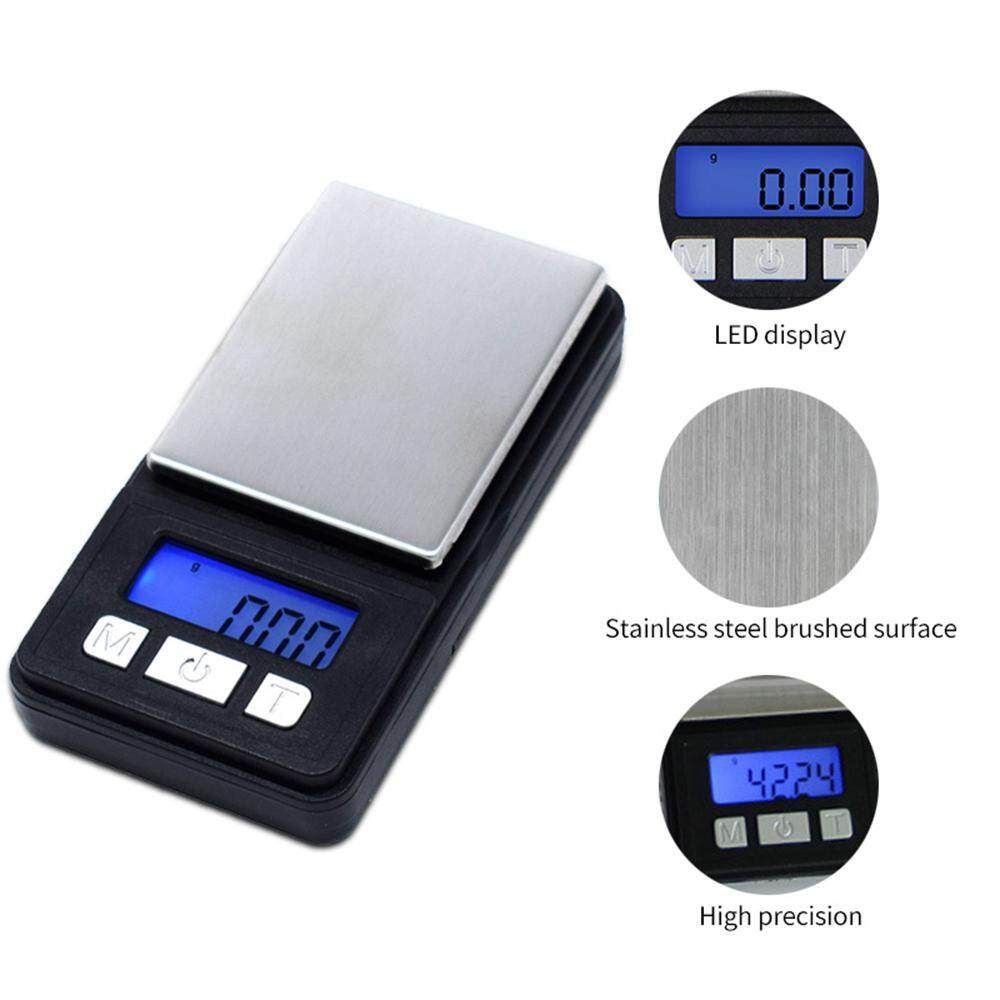 Aolvo Pocket Scale,500g/0.1g Mini Portable Scale With Protective Cover Backlight Screen High Precision Tiny Digital Gram Scale For Jewelry Cooking 8.5*4.5*2cm By Aolvo.