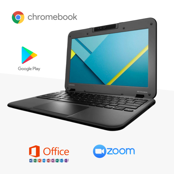 Lenovo N22 Chromebook is an affordable laptop, ultra-portable Laptop , perfect for entertainment and web browsing, 4GB RAM, Intel Processor laptop, best selling laptop Malaysia