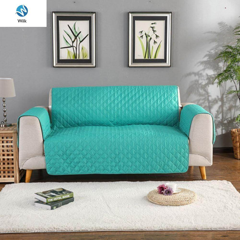Lace Quilted Jacquard Sofa Cover Slipcover Anti-slip Couch Recliner Protector