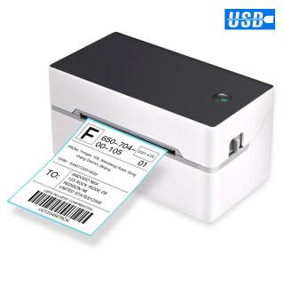 Nhãn Vận Chuyển Trên Bàn Aibecy Máy In Nhãn Dán Máy In Nhiệt Trực Tiếp USB + BT Tốc Độ Cao Nhãn Dán Máy In, Chiều Rộng Giấy 40-80Mm Để Vận Chuyển Nhãn Mã Vạch Bưu Chính In Ấn Tương Thích Với Amazon Ebay Shopify FedEx USPS Etsy thumbnail